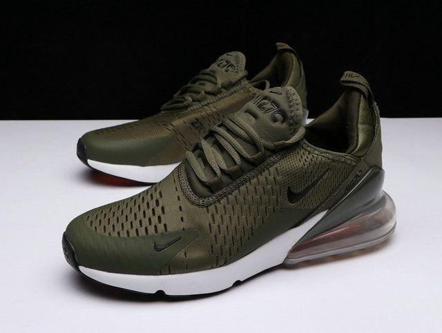 pretty nice 69de6 80d2c Nike Air Max 270 Moss Green White How To Buy Shoe