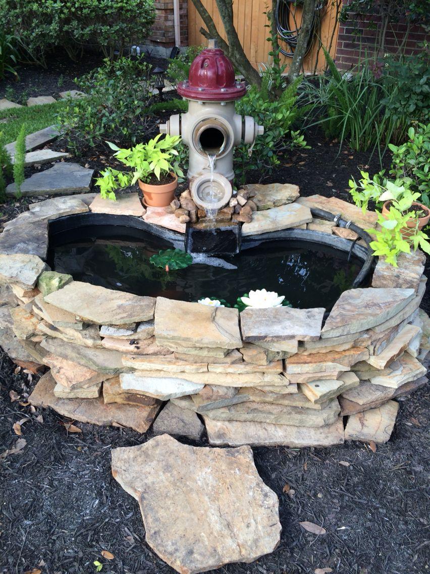 Fire Hydrant Fountain