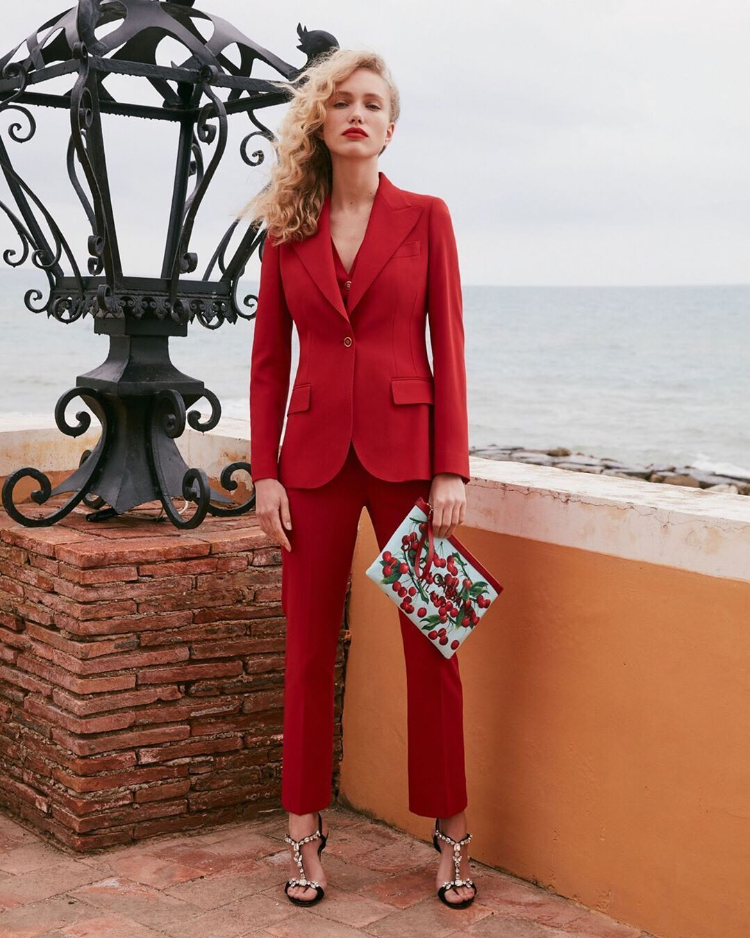 "Mytheresa on Instagram: ""EXCLUSIVE: Shot along the beautiful coast of Italy, @dolcegabbana has created the capsule collection to be seen in this summer –…"""