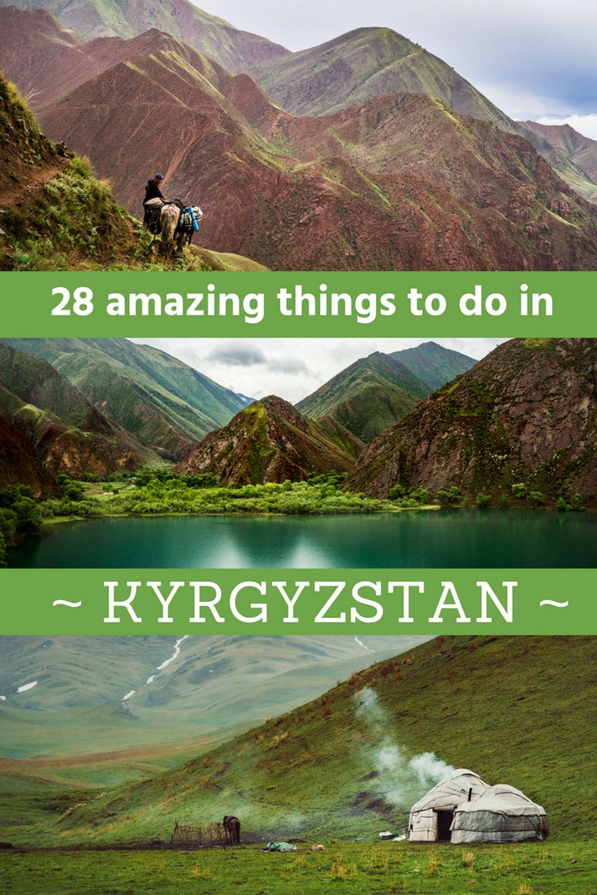 Sights of Kyrgyzstan: nature, historical places, culture 19