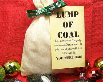 Lump Of Coal For Christmas.Lump Of Coal Poem Google Search Holiday Crafts