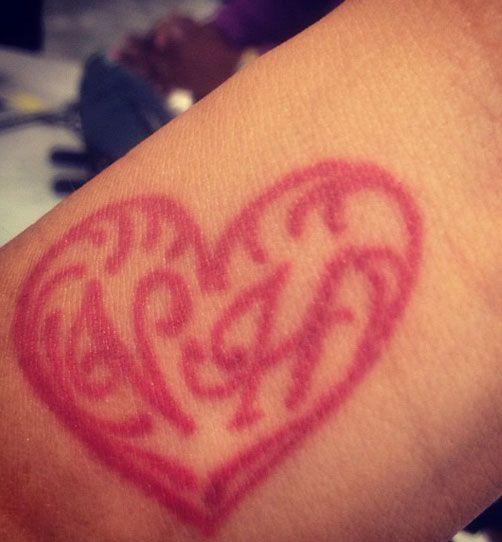 Foto van tattoo