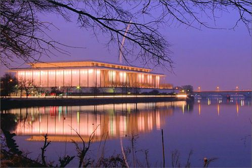 Kennedy Center -- July 2, 2011 -- Married Stephen Little on the rooftop, our chapel.
