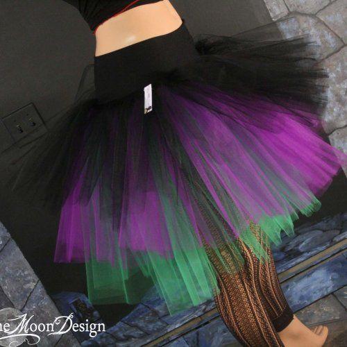 306f884f1 How To Make An Adult Tutu Three layer petticoat tutu … | Halloween ...
