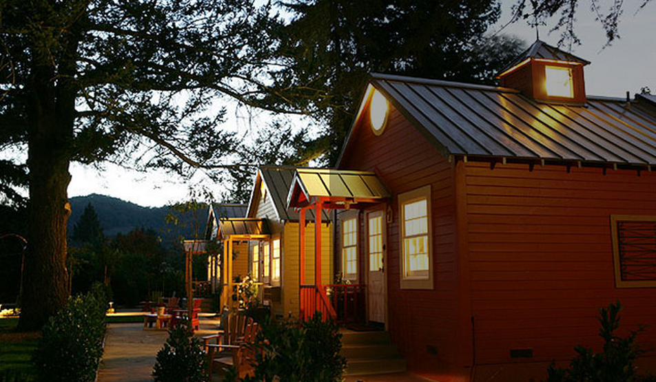 Napa The Cottages Of Napa Valley Talk Of The House Napa Trip Cottage Napa Valley