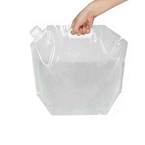 Lifeunion 10 Litres Collapsible Water Container Bpa Free Plastic Water Carrier Outdoor Folding Water Bag For Spo Water Containers Water Carrier Emergency Water