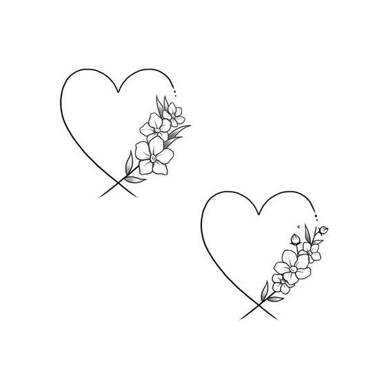 Tatuaggi per i miei bambini Tatuaggi #flowertattoos – disegni di tatuaggi floreali