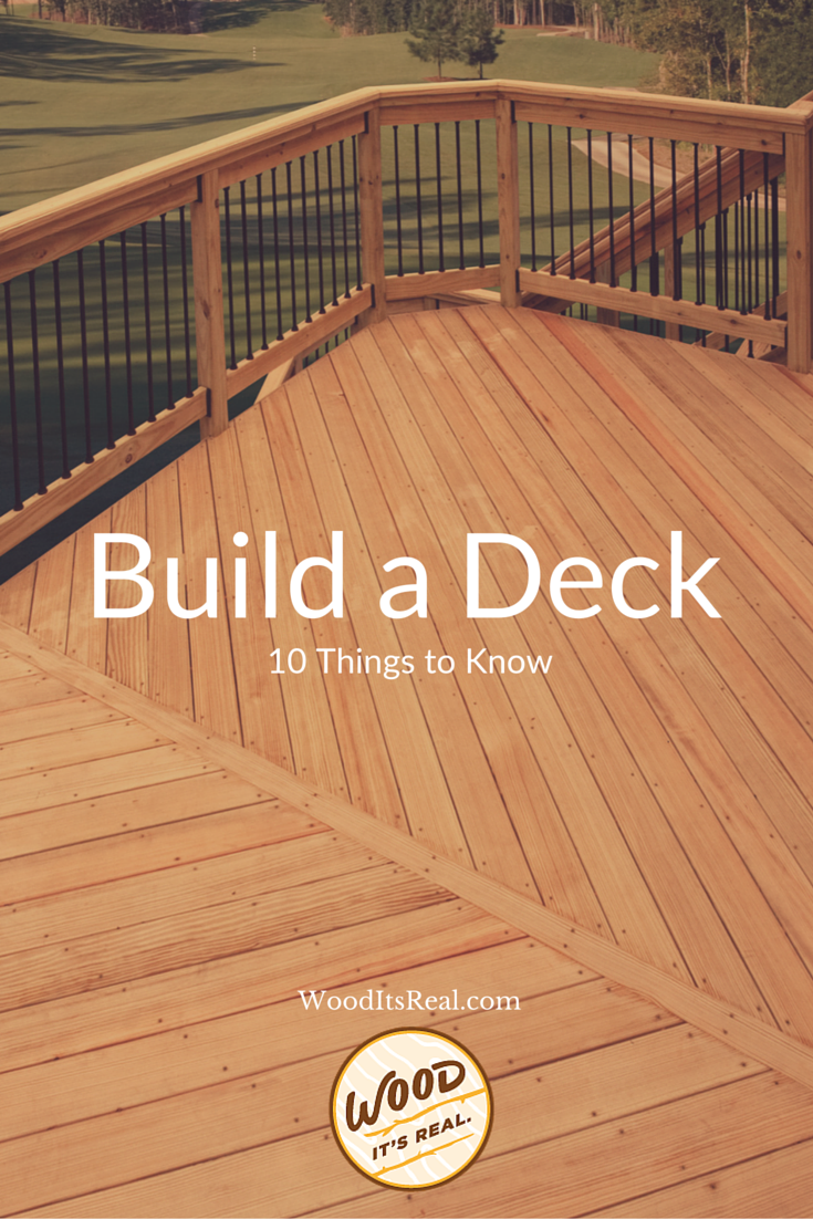 10 things to do when building a diy deck read our tips to for Things to consider when building a deck