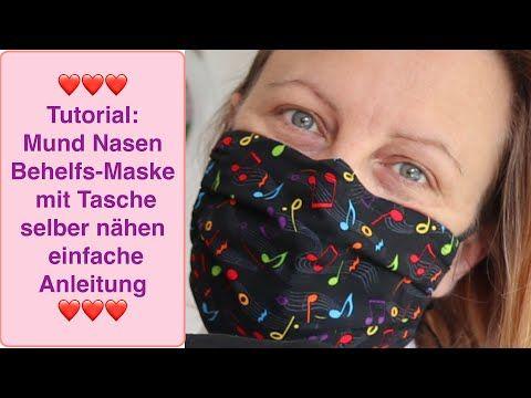 Photo of Gesichtsmaske DIY, provisorischer Mundschutz nähen einfache Anweisungen / Filterbeutel Draht #Maske zeigen