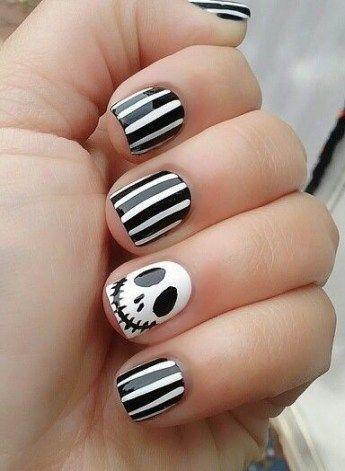 50+ Ideas nails design disney jack skellington #nails ...