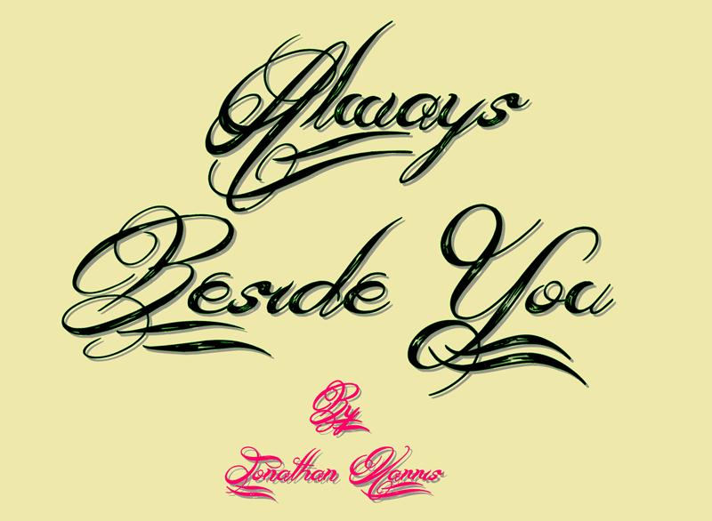 always beside you typo