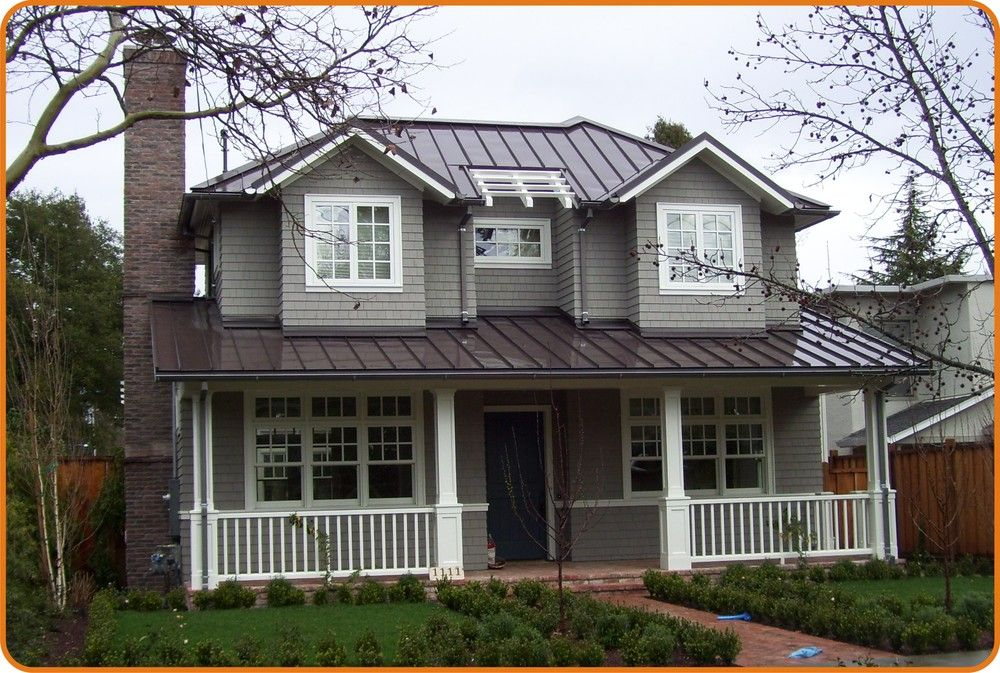 Best White House Dark Brown Metal Tin Roof Google Search 640 x 480