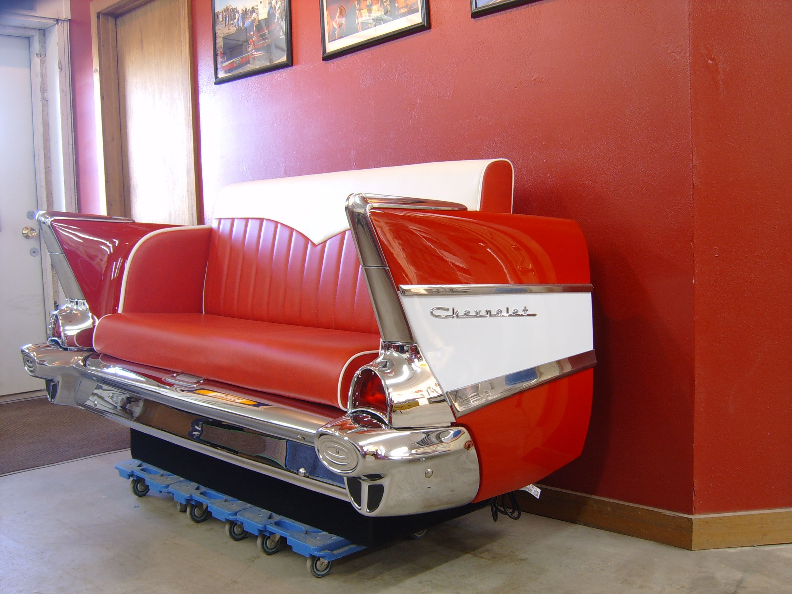 cool couches for man cave. 1957 Chevrolet Car Couch Cool Idea For A Man Cave Couches