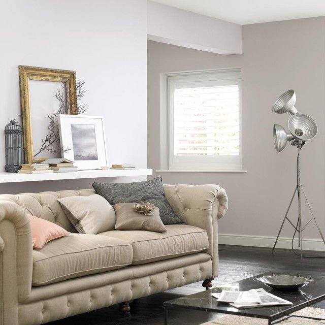 Clay white and grey putty colour for our bedroom - Crown paint colours for living room ...