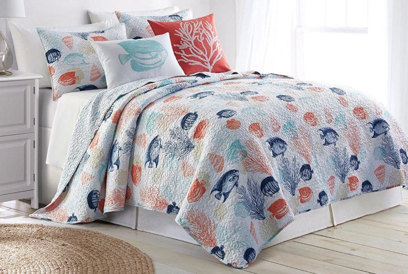 Best Nautical Quilt Sets Discover The Most Beautiful Nautical Quilts And Nautical Coverlets For Your Coastal Beddi Coastal Bedding Sets Bed Decor Bedding Sets