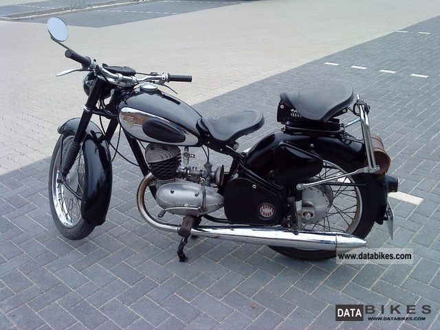 1953 Dkw Rt 175 200 Motorcycle Motorcycle Photo Classic Motorcycles Motorcycle Online Bike