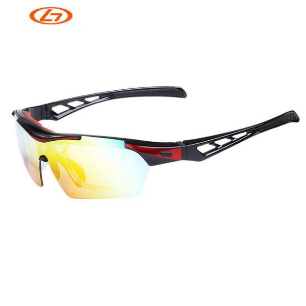 OBAOLAY SP0899 Polarized Cycling Glasses 5 Lens Unisex Outdoor Sports Protective Goggles