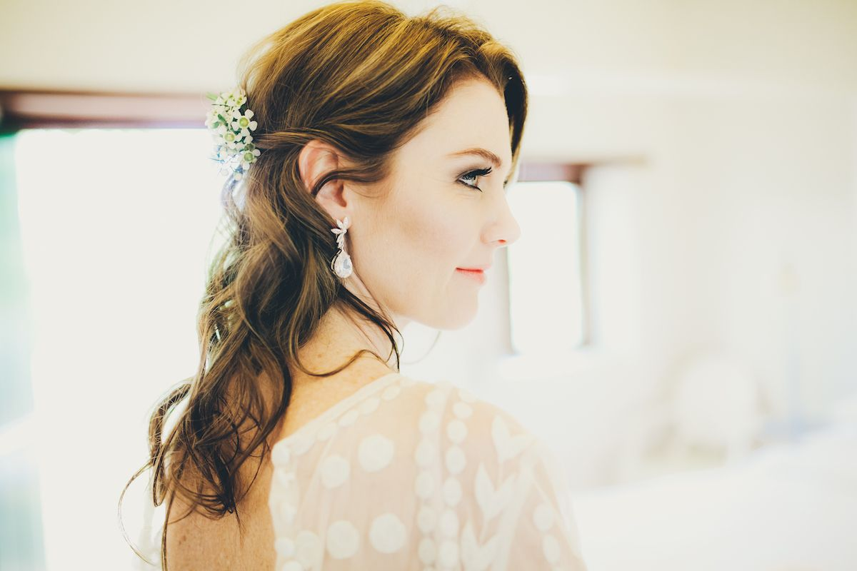 1940\'s inspired Bridal Hair by Kirsten Murphy Rossiter. | Bridal by ...