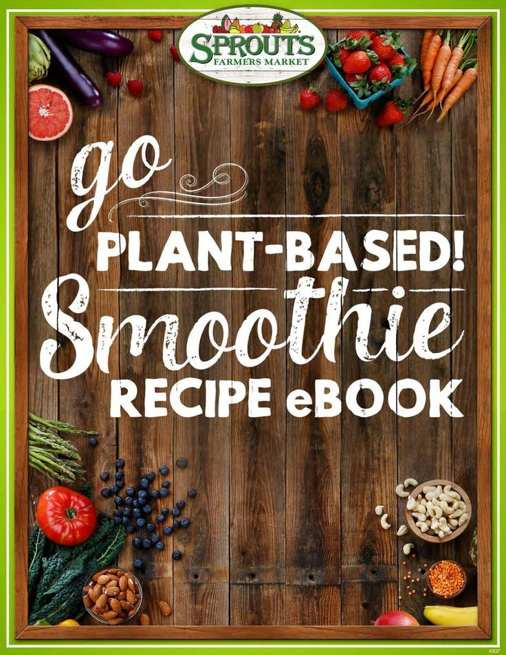 Go Plant-Based Smoothie Recipe eBook