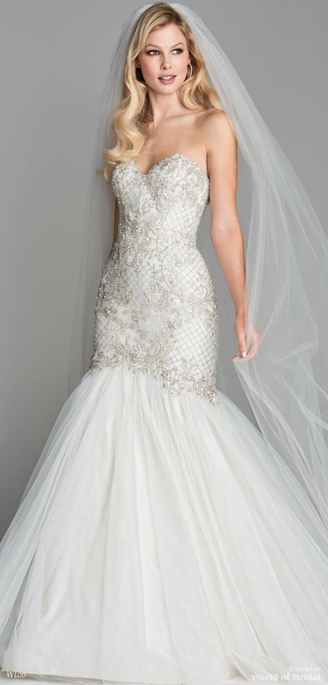 Wtoo spring bridal collection by watters wedding dress