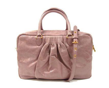 MiuMiu Bauletto bag VITELLO LUX PLO in Mughetto   Miu Miu   Miu miu ... bb7ef10c5e