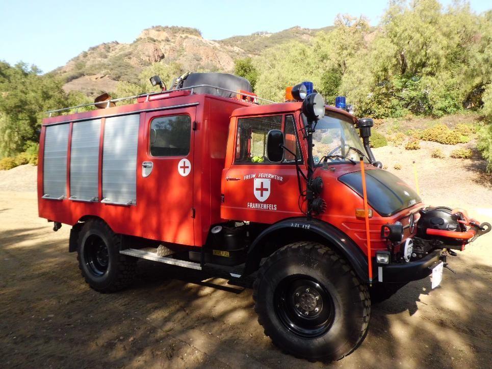 1972 Mercedes-Benz Unimog 416 Diesel Rescue   Auto