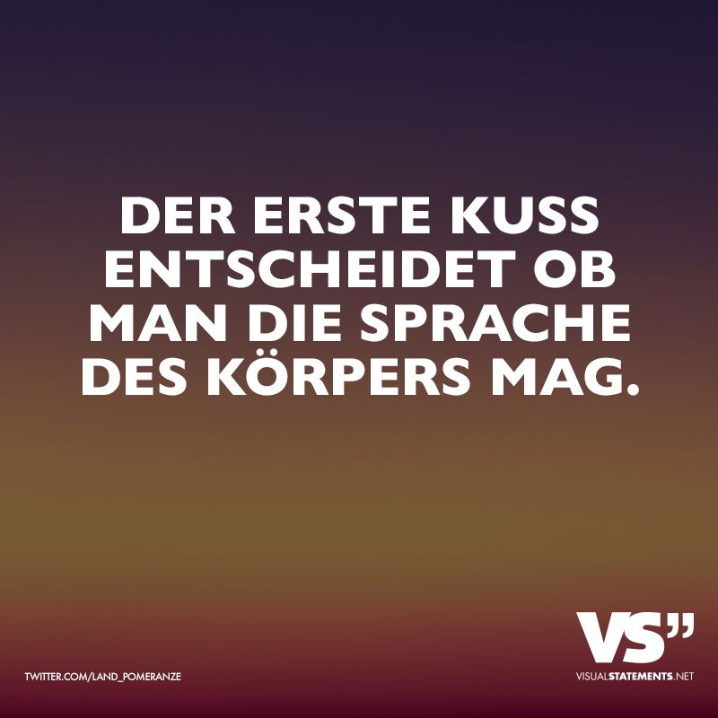 Der Erste Kuss Entscheidet Ob Man Sprache Des Korpers Mag