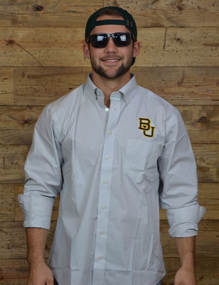 Always show up in style with this BU button up! Perfect for any occasion! Sic 'Em Bears!