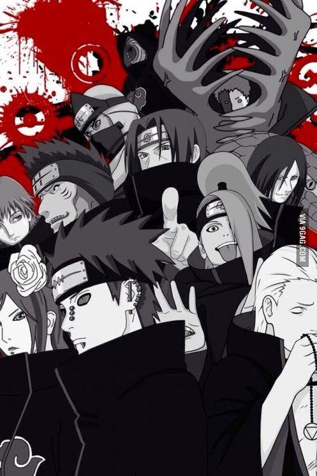 Best Akatsuki Wallpaper I Ve Seen So Far Anime Naruto Anime