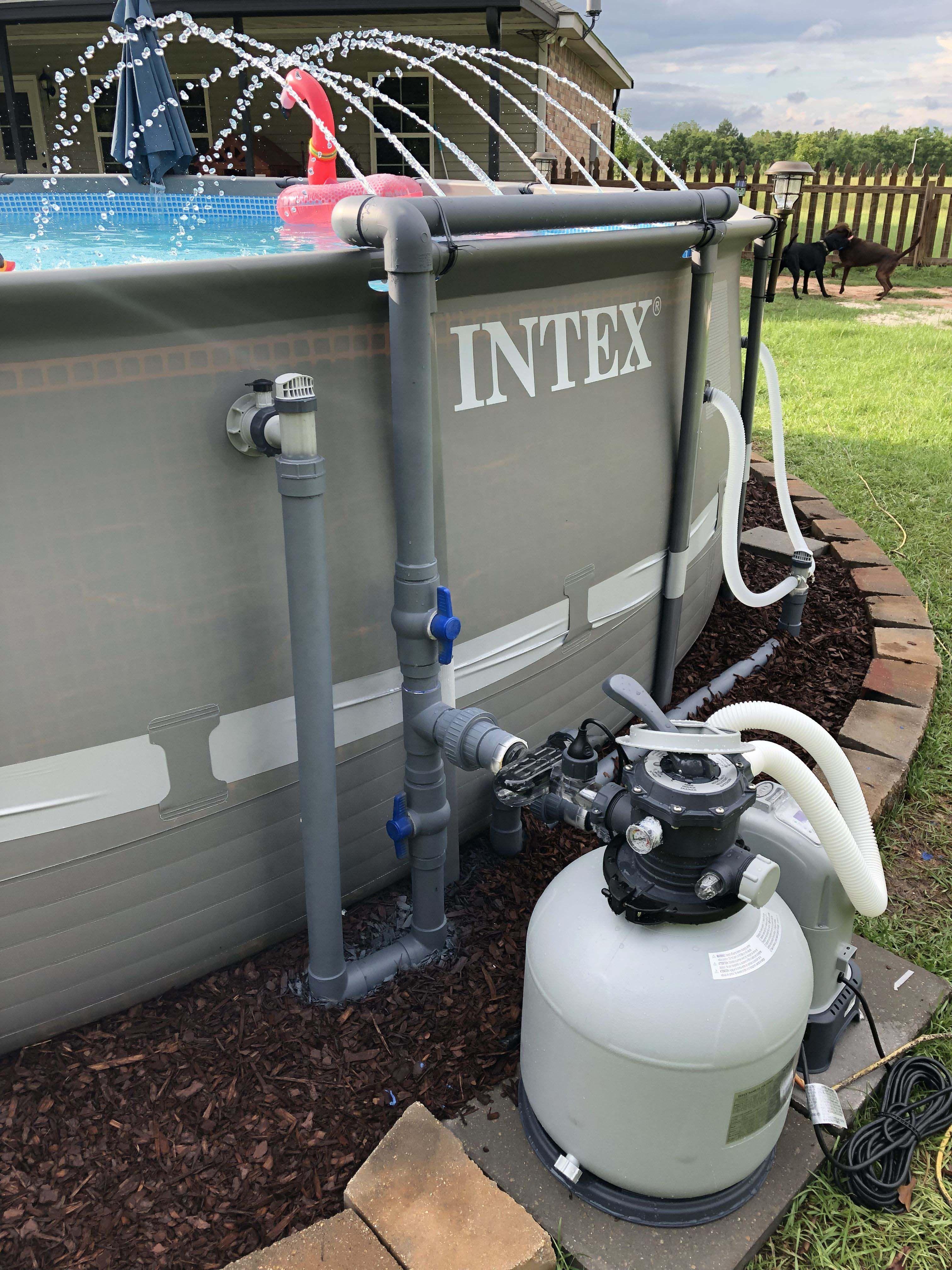 Best Sand Filter For Above Ground Pool Diy Swimming Pool Pool Pump Intex Pool Pump