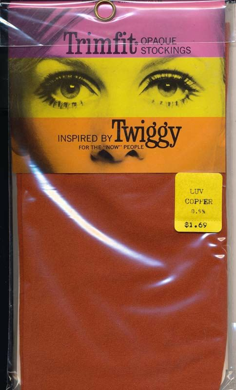 Trimfit Twiggy Mod Copper Full Length Stockings 8-9.5 Retro 1960s New Old Stock by XRayLingerie on Etsy https://www.etsy.com/listing/249745918/trimfit-twiggy-mod-copper-full-length