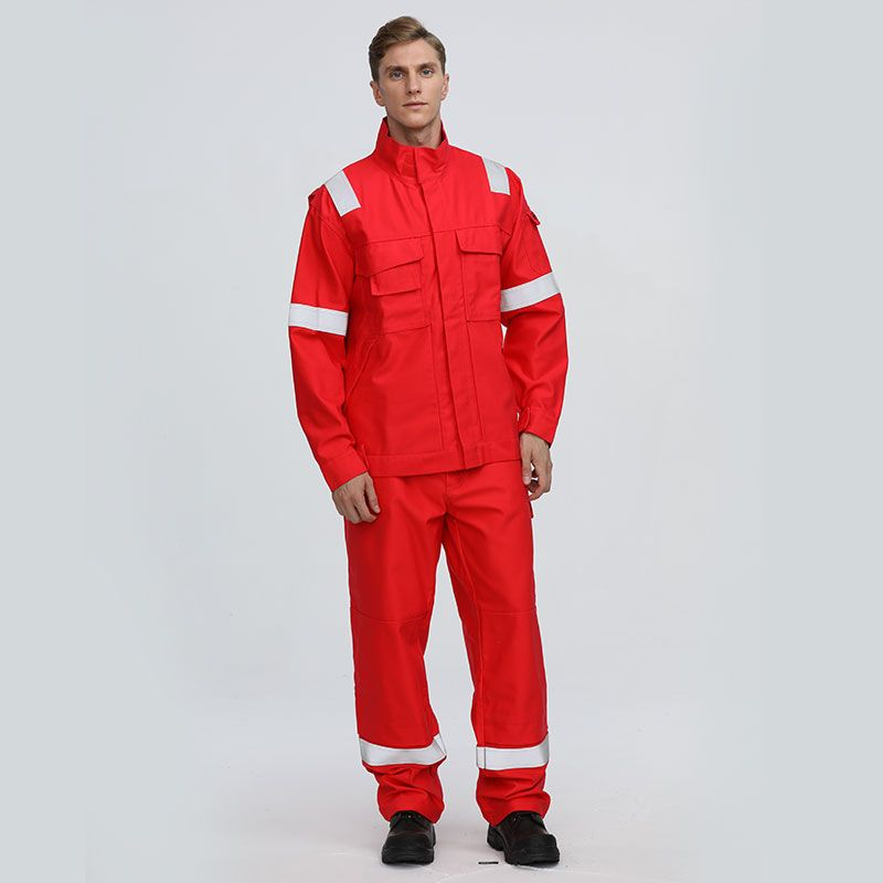 Men/'s FIRE RESISTANT CLOTHING FR OVERALLS  MECHANIC JUMPSUIT  FLAME  OVERALL