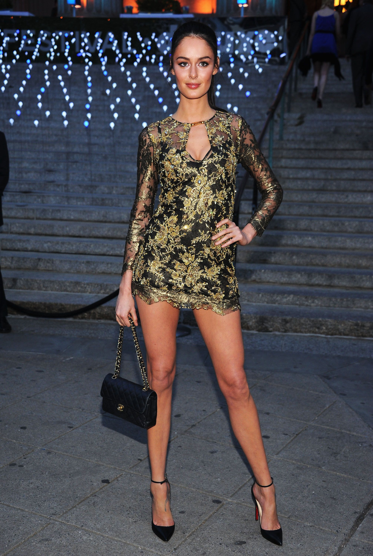 Nicole Trunfio Wore A Gold Lace Pucci Minidress To The Vanity Fair Dakota Ivanka And More Stars Kick Off Tribeca With Vanity Fair Mini Dress Super Short Mini Dress Tight [ 3000 x 2014 Pixel ]