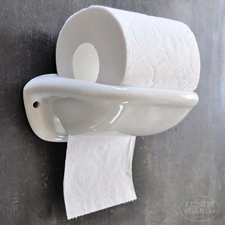 Posliininen wc-paperiteline