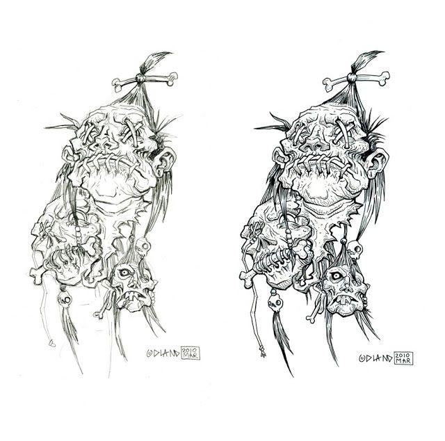 shrunken heads illustration google search tattoo ideas pinterest shrunken head tatoo. Black Bedroom Furniture Sets. Home Design Ideas