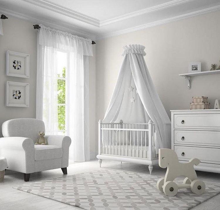 Chambre Bebe Blanche Epuree Chic Zen Avec Images Amenagement