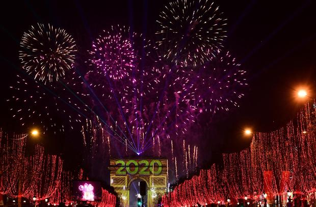New Year's Eve 2020 Happy New Year events, fireworks and