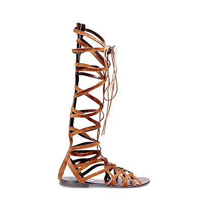 f55b604dcba Black Knee High Gladiator Sandals | Steve Madden HERCULES | Shoes ...