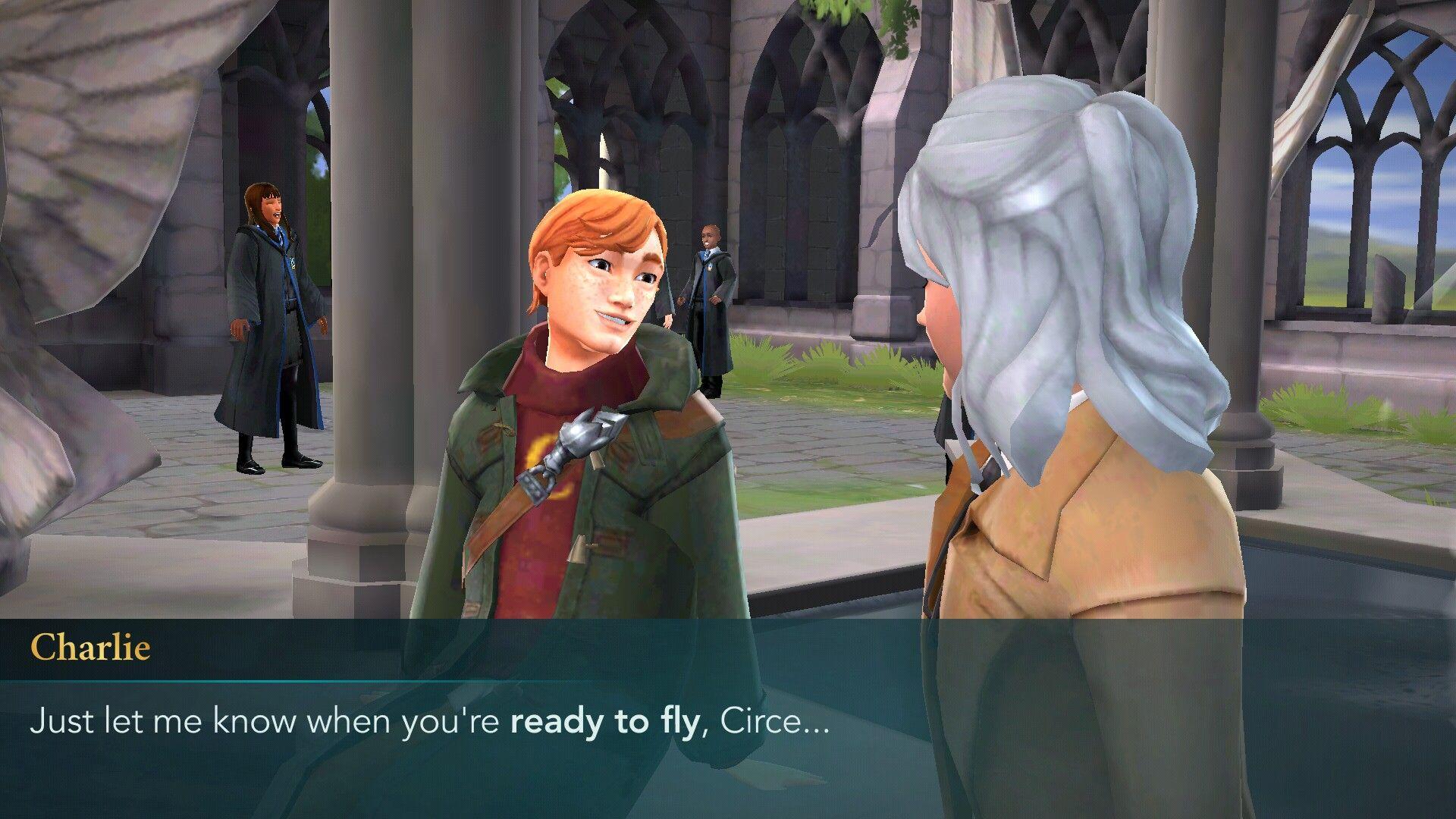 Charlie Weasley Is Bae Hogwarts Mystery Hogwarts Harry Potter
