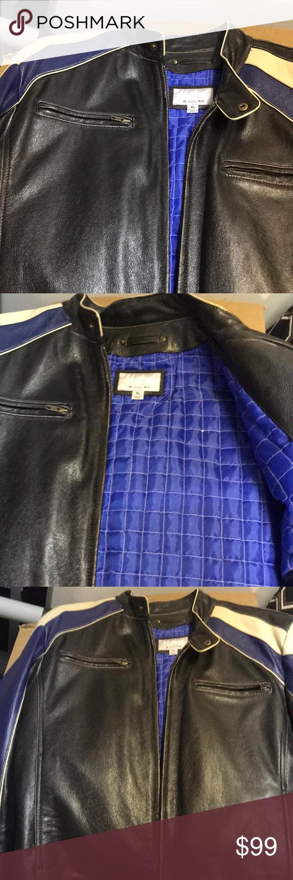 Wilson leather & faux fur jacket sz S Adorable Wilson