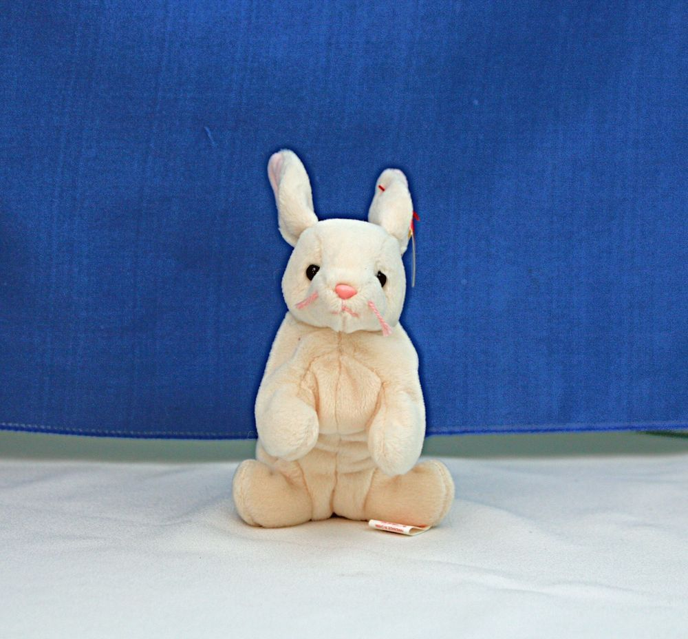 RARE Nibbler the Bunny TY Beanie Baby 468d11dfbbc6