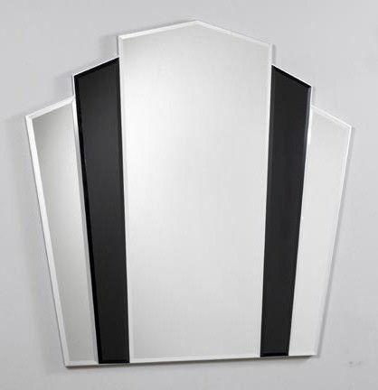 Rococo Decorative Wall Tile Art Deco Fanned Mirrors  Modern  Contemporary  Rococo Retro