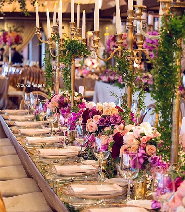 Image Result For Purple Peach And Gold Wedding