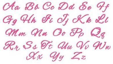 Pretty Script Font Pretty Script Fonts Lettering Fonts Monogram Fonts