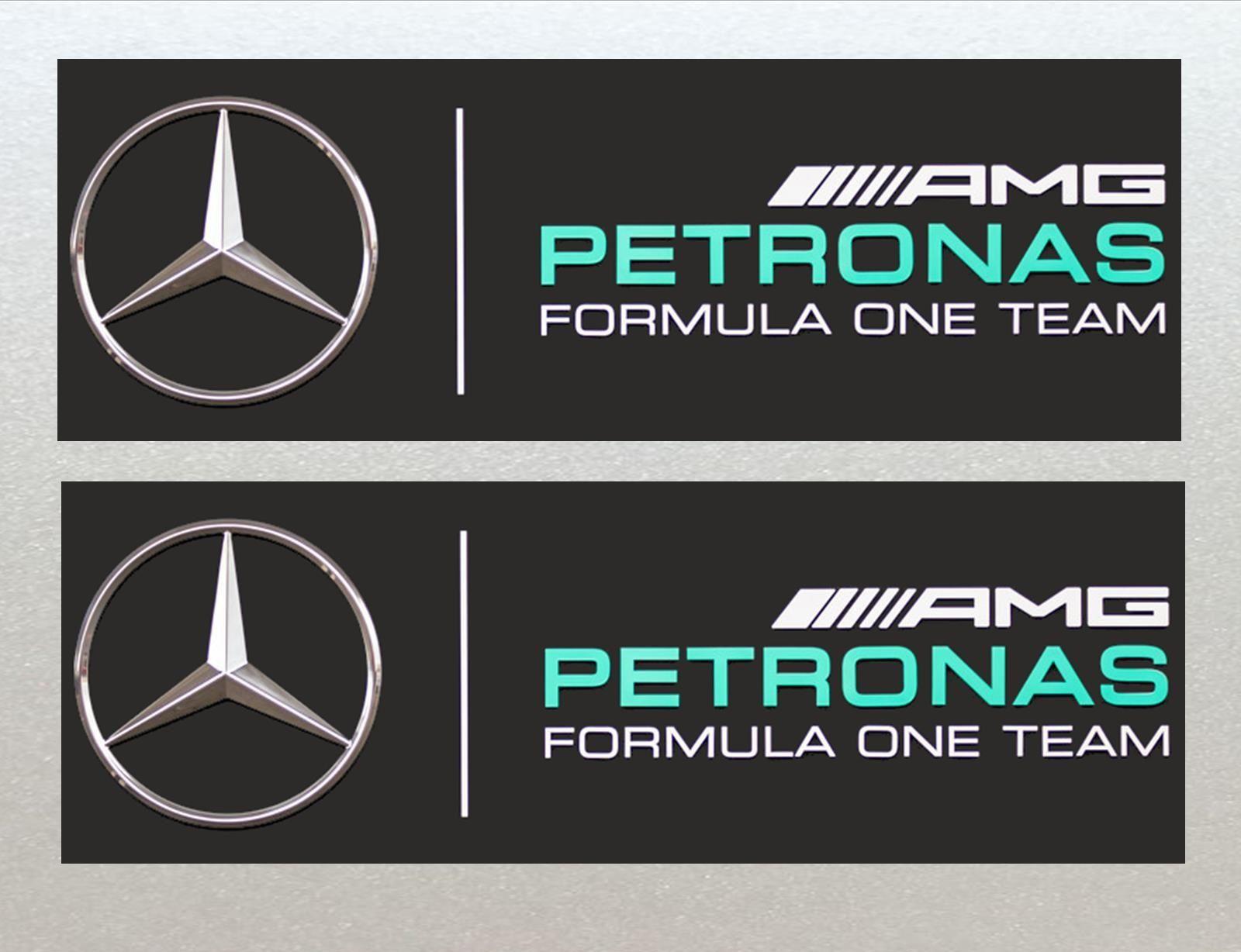 Mercedes Petronas Formula One F1 Racing Car Van Rc Etc Stickers 2x Included 125mm Formula 1 Autos Formula 1 Mercedes [ 1228 x 1600 Pixel ]