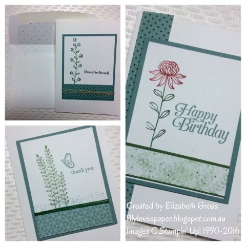 Lillybet's Papers: Flowering Fields Card Set