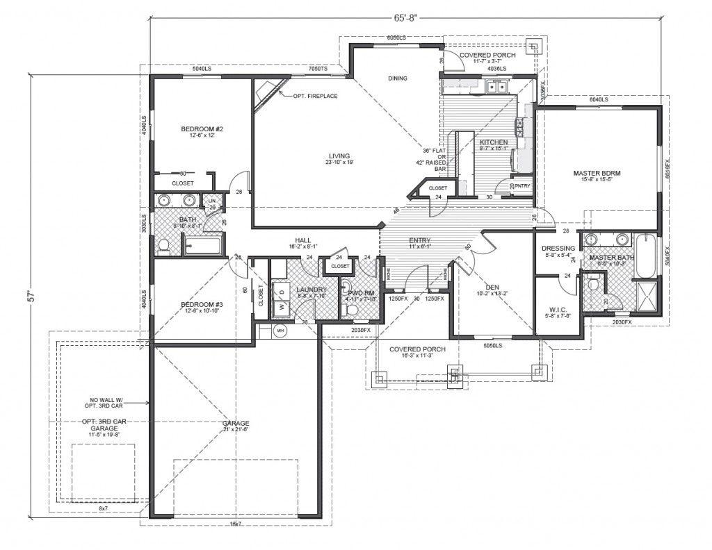 Ripple Cove Rambler Floor Plan Jpg 1 024 792 Pixels House Plans Floor Plans Single Story Homes