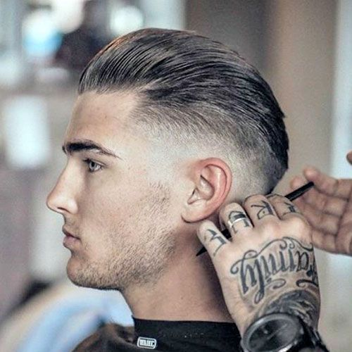 25 Barbershop Haircuts Taper Fade Haircut Pinterest Hair