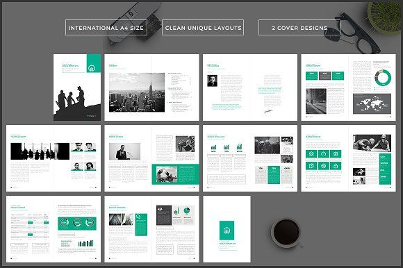 The Brochure  Annual Report By Studio Designs On Creativemarket