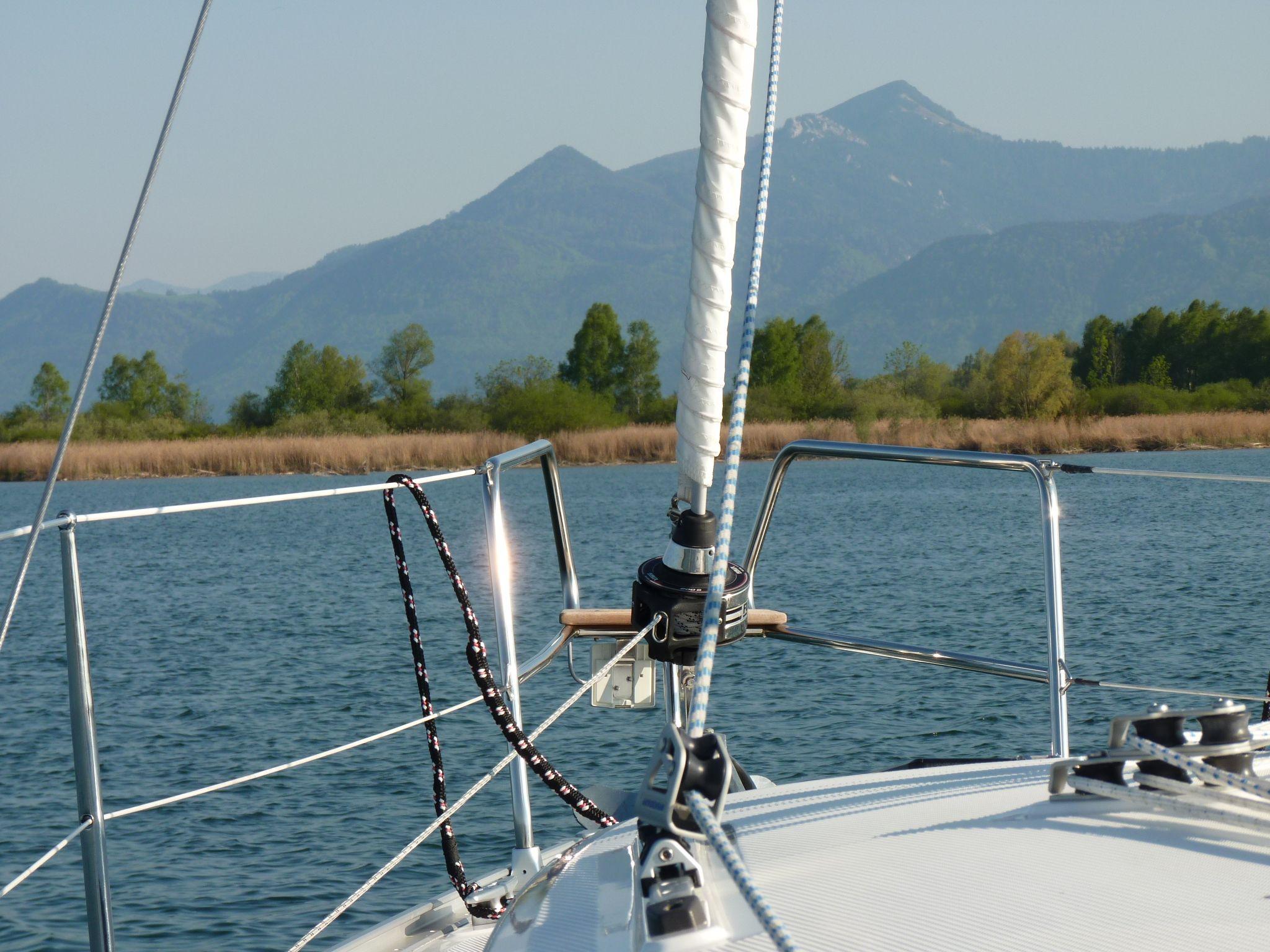 #Segeln am #Chiemsee - Firmenregatta - #Segelevent - #sail #sailing #bavaria #germany #see #segelboot #boot